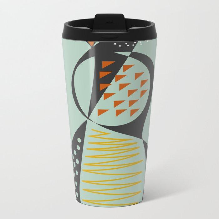 Pear Metal Travel Mug
