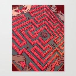 Domino Labyrinth Canvas Print
