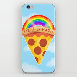 Pizza Is Magic iPhone Skin