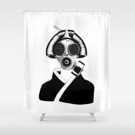 Geisha II Shower Curtain