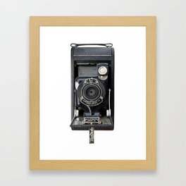 Vintage Autographic Kodak Jr. Camera Framed Art Print