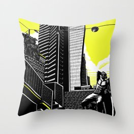 Lev TLV Throw Pillow
