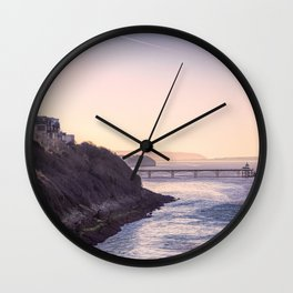 Clevedon Sea front Wall Clock