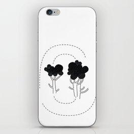 Broccoli Love iPhone Skin