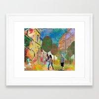 urban Framed Art Prints featuring urban by Ruth Rosenzweig