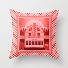Haunted Homes: The Amityville Horror Throw Pillow