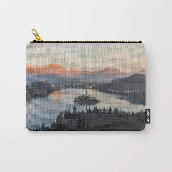 Lake Bled, Slovenia II Carry-All Pouch