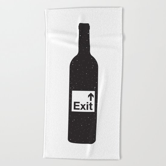 NOTHING #4 - Bottoms Up Beach Towel