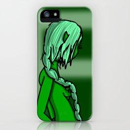 Green | Veronica Nagorny iPhone Case