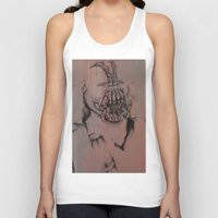 bane Tank Tops featuring Bane, by Laura Hodgson