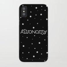 Astronomy Ambigram iPhone X Slim Case