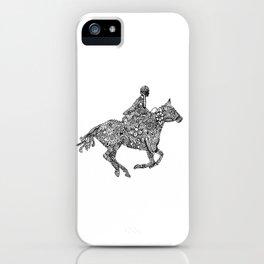 Horse Rider iPhone Case