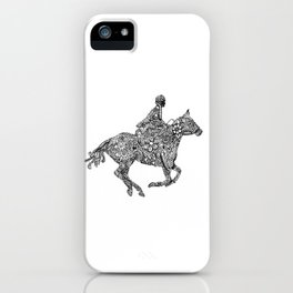 Horse Rider iPhone Case