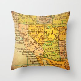 Nifty Fifty 7 Throw Pillow