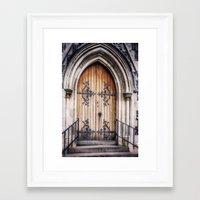 doors Framed Art Prints featuring Doors by JMcCool