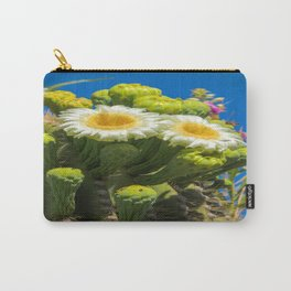 Saguaro Flower Power Carry-All Pouch
