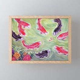 Koi Fish Framed Mini Art Print