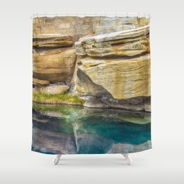 Spring Azure Shower Curtain