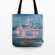 SKY CITY Tote Bag