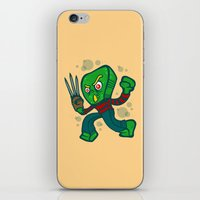freddy krueger iPhone & iPod Skins featuring Gumby Krueger by Artistic Dyslexia