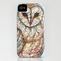 Barn Owl Slim Case iPhone (4, 4s)