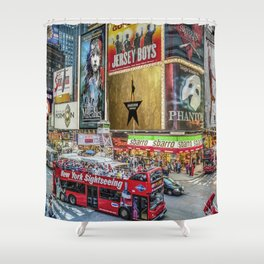 Times Square II Special Edition I Shower Curtain