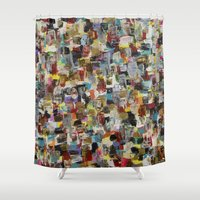 be brave Shower Curtains featuring Brave by Deborah Jolly