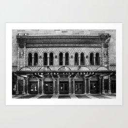 New York City Center. Art Print