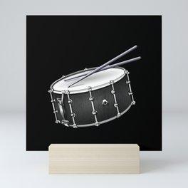 Snare Drum And Sticks Mini Art Print