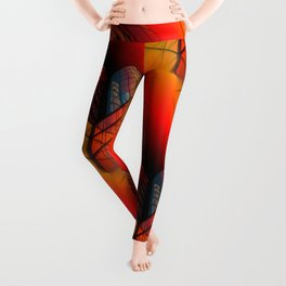 3D - abstraction -63- Leggings