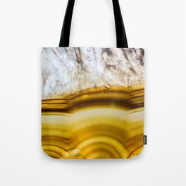 Amber Honey Agate Earth Tote Bag
