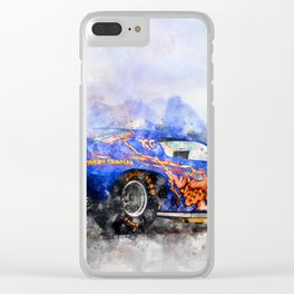 Jim Liberman, Jungle Jim Clear iPhone Case