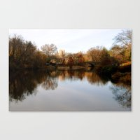 central park Canvas Prints featuring Central Park by Jasmine Perillo