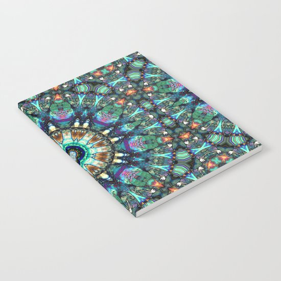 Stained Glass Abstract Notebook