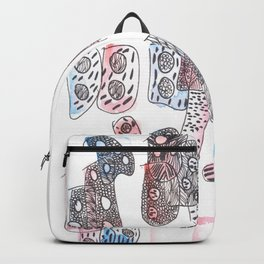 170322 Magical Unfolding 3 |Modern Watercolor Art | Abstract Watercolors Backpack