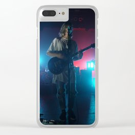 Christian Zucconi of Grouplove at Terminal 5, New York Clear iPhone Case