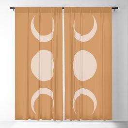 Moon Minimalism - Desert Sand Blackout Curtain