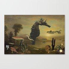 El Mar Invisible Canvas Print