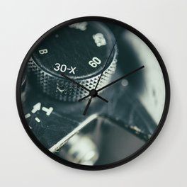 Classic Camera Wall Clock