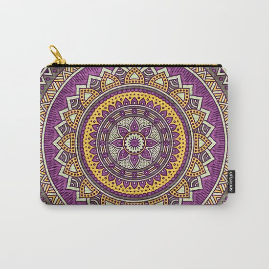 Hippie mandala 62 Carry-All Pouch