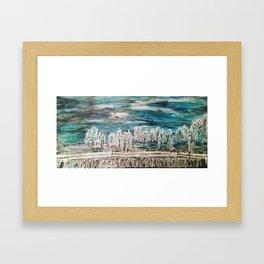 Winter Magical Wonderland Framed Art Print