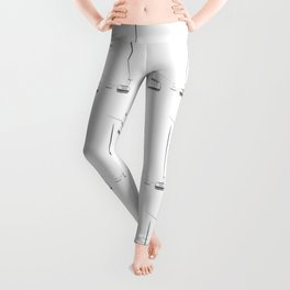 Lifts from and to nowhere Leggings