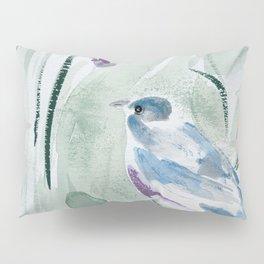 robin with nest Pillow Sham