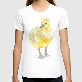 Baby Gosling Goose Watercolor T-shirt