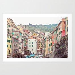Cinque Terre - Italy Travel Photography Art Print
