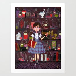 Flavia de Luce Art Print