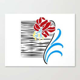 Immortal Flower Canvas Print