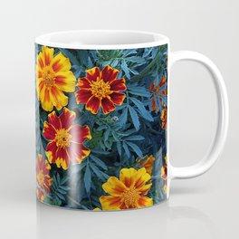Bright flowers of marigolds Coffee Mug