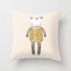 Pussycat Throw Pillow