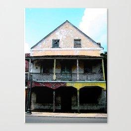Abandon Building Canvas Print